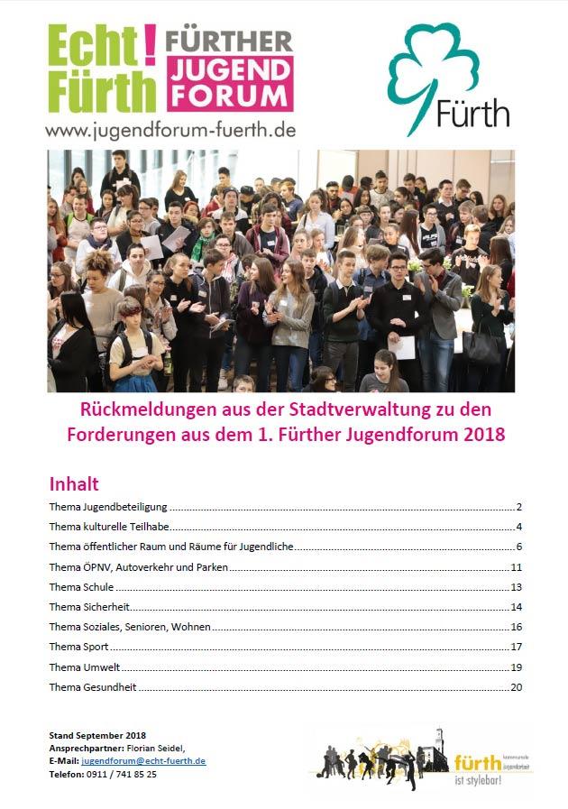 Vorschaubild Broschüre 1. Fürther Jugendforum